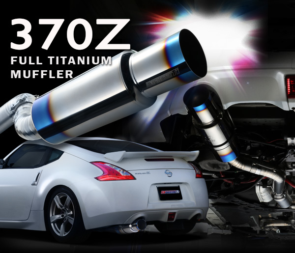 NEW Full Titanium Tomei Exhaust 370Z Single | 40+lbs Weight Savings ...
