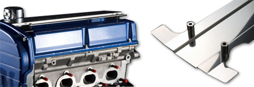 """Logo White Tomei License Plate Frame /""""The Engine Specialist/"""" Black"""
