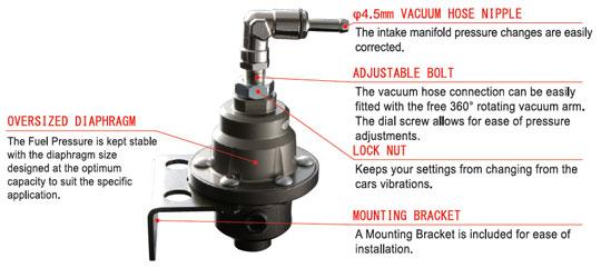 adjustable rh tomeiusa com fuel pressure regulator diagram adjustable fuel pressure regulator diagram
