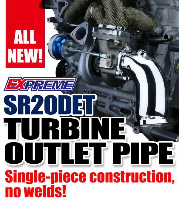 ALL NEW!! : SR20DET TURBINE OUTLET PIPE