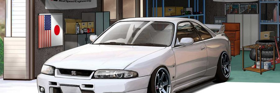 Wall Paper : 1996 Nissan Skyline GT-R BCNR33