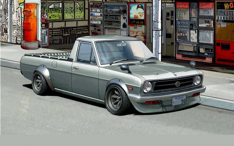 Wall Paper :1991 Nissan Sunny Truck Long  GB122