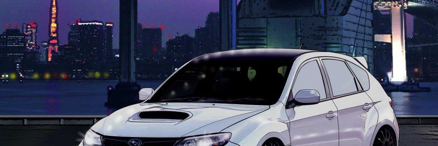 Wall Paper :2009 Subaru Impreza WRX STi Spec-C in Tokyo