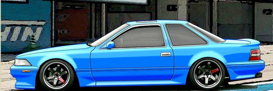 Wall Paper : 1989 Toyota Soarer MZ20