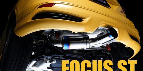 NEW RELEASE : FOCUS ST FULL TITANIUM SUPER LIGHTWEIGHT MUFFLER!