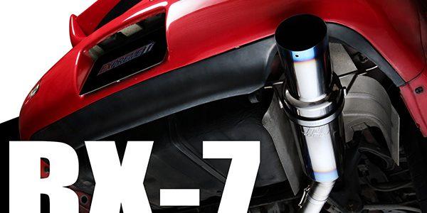 NEW RELEASE : FULL TITANIUM MUFFLER/MID PIPE  RX-7 FD3S